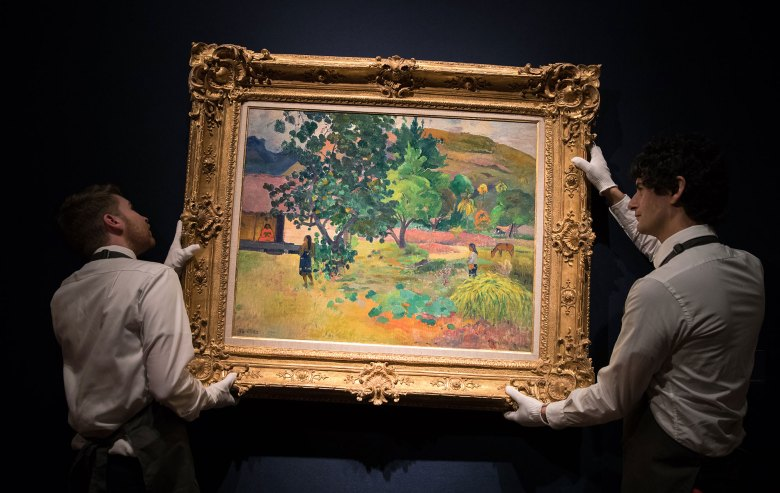 Impressionist and Modern Art Evening Sale auction at Christie's in London